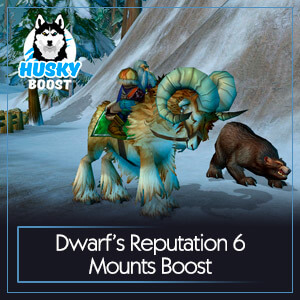 Dwarf's Reputation 6 Mounts Boost