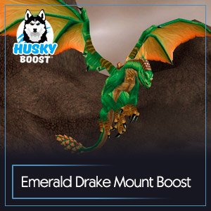 Emerald Drake Mount Boost