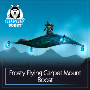 Frosty Flying Carpet Mount Boost