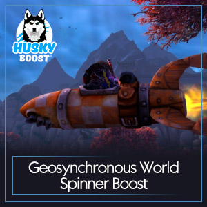 Geosynchronous World Spinner Boost