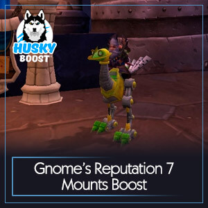 Gnome's Reputation 7 Mounts Boost