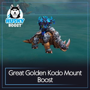Great Golden Kodo Mount Boost