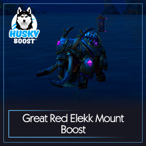 Great Red Elekk Mount Boost