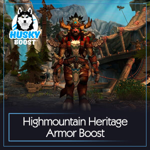 Highmountain Heritage Armor Boost