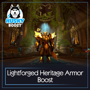 Lightforged Heritage Armor Boost