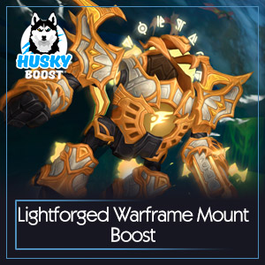 Lightforged Warframe Mount Boost