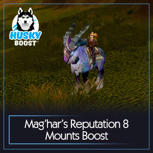 Mag'har's Reputation 8 Mounts Boost