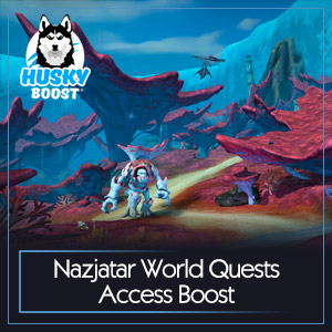 Nazjatar World Quests Access Boost