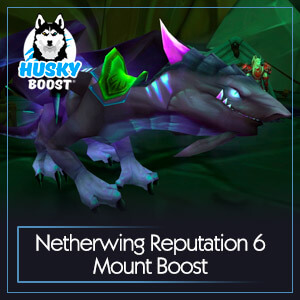 Netherwing Reputation 6 Mount Boost