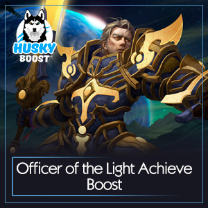 Officer of the Light Achieve Boost