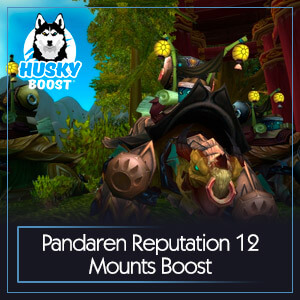 Pandaren Reputation 12 Mounts Boost