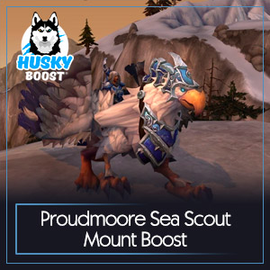 Proudmoore Sea Scout Mount Boost
