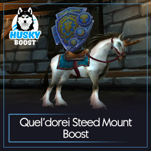 Quel'dorei Steed Mount Boost