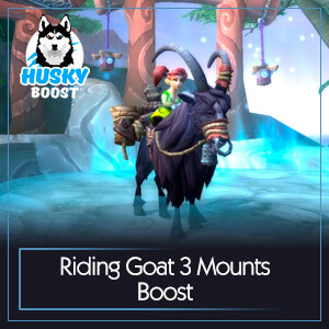 Riding Goat 3 Mounts Boost