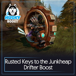 Rusted Keys to the Junkheap Drifter Boost