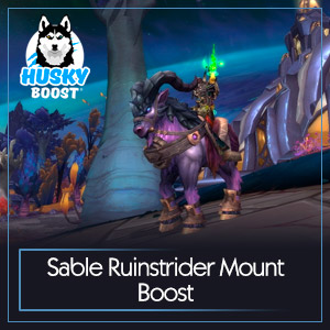 Sable Ruinstrider Mount Boost