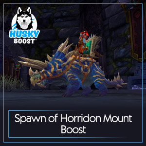 Spawn of Horridon Mount Boost
