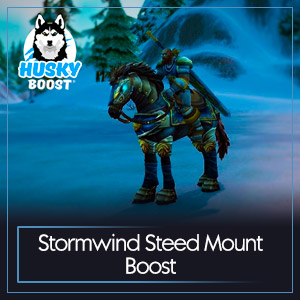 Stormwind Steed Mount Boost