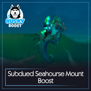 Subdued Seahourse Mount Boost