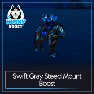 Swift Gray Steed Mount Boost
