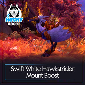 Swift White Hawkstrider Mount Boost
