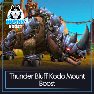 Thunder Bluff Kodo Mount Boost