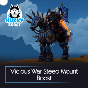 Vicious War Steed Mount Boost