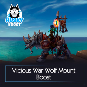 Vicious War Wolf Mount Boost