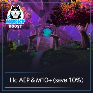 Heroic Eternal Palace & Mythic 10+ Weekly Package(save 10%)