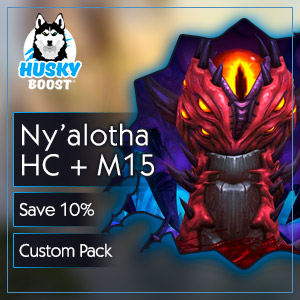 Heroic Ny'alotha & Mythic 15+ Weekly Package(save 10%) Image