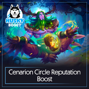 Cenarion Circle Reputation Boost