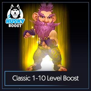 WoW Classic 1-10 Level Boost Service