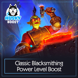 Classic Blacksmithing Power Level Boost Image