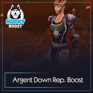 WoW Classic Argent Down Reputation Boost Image