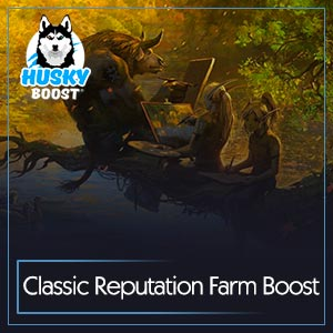 WoW Classic Reputation Farm Boost Service