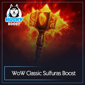 Sulfuras Legendary Boost Service Image