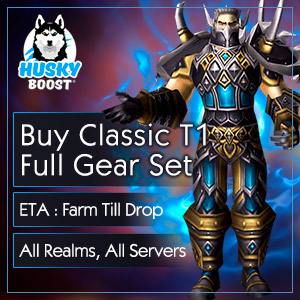 WoW Classic T1 Raid Gear Set Boost