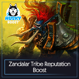 Zandalar Tribe Reputation Boost