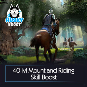 Lvl 40 (60%) Mount Farming Boost