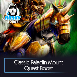 Classic Paladin Mount Quest Boost