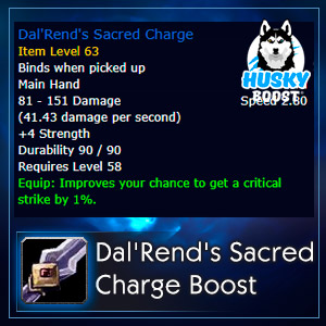 Dal'Rend's Sacred Charge Farm Boost