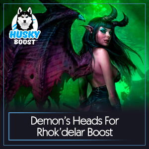 WoW Classic Demon's Heads For Rhok'delar Boost