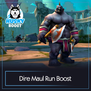 WoW Classic Dire Maul Run Boost