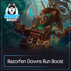 Classic Razorfen Downs Run Boost
