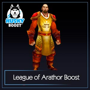 League of Arathor Reputation Boost Image