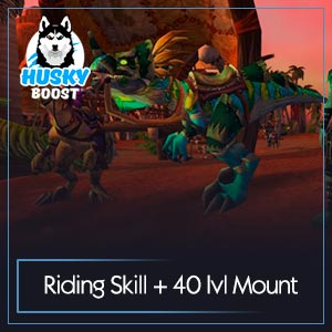 40 lvl Mount and Riding Skill Boost Image