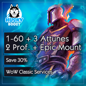 1-60 lvl + 2 Professions + 3 Attunements + Epic Mount(save 30%)