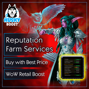 Buy Reputation Boost in WoW