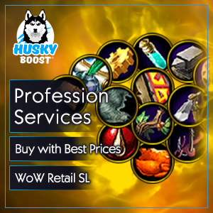 Professions Power Level Boost in WoW