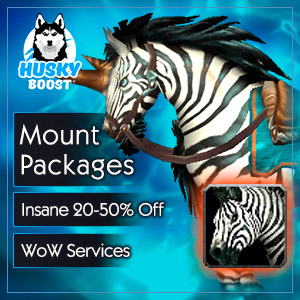 WoW Mount Boost Packages